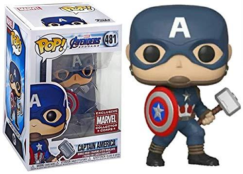 POP Funko Marvel Collector Corps #481 Avengers Endgame Captain America