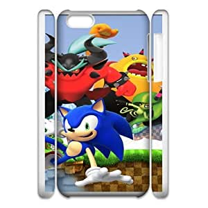 Special Design Cases iphone6 Plus 5.5 3D Cell Phone Case White Sonic Lost World Yojom Durable Rubber Cover
