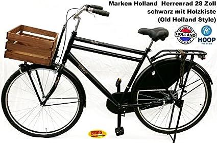 Bicicleta clásica Alctec para hombre Roma 71,12 cm negro con ...
