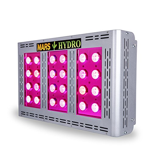 MarsHydro Led Grow Light - Pro II Epistar 600W Full Spectrum for Hydroponics Indoor Greenhouse Plants Veg and Flower by Marshydro