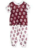 Texas A&M University Aggies Little Boys Short Sleeve 2-Piece Pajama Set, Size 4T
