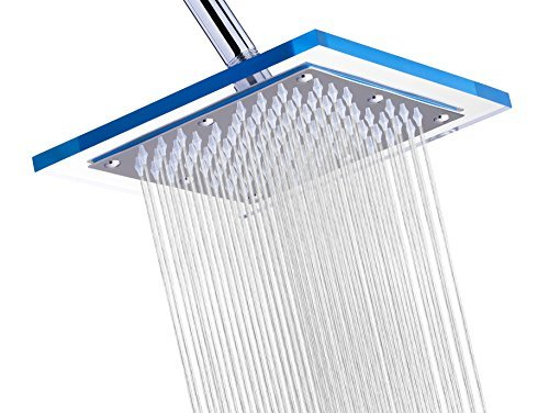 "A-Flow™ Luxury Rain 8"" Square Stainless Steel Shower Head"