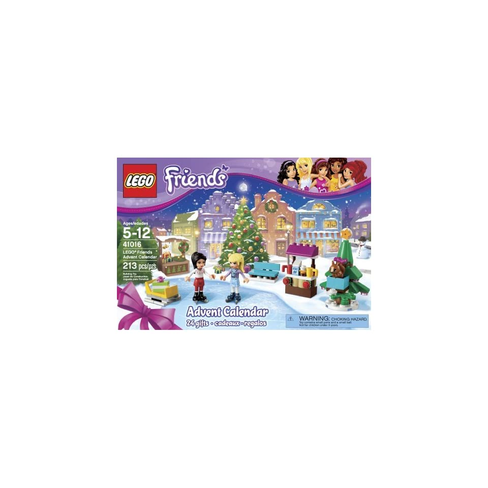 LEGO® Friends Advent Christmas Calendar 24 Buildable Gifts w/ Minifigures 41016 Toys & Games