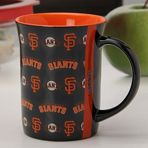 MLB San Francisco Giants Official Line Up Mug, Multicolor, One Size by The Memory Company