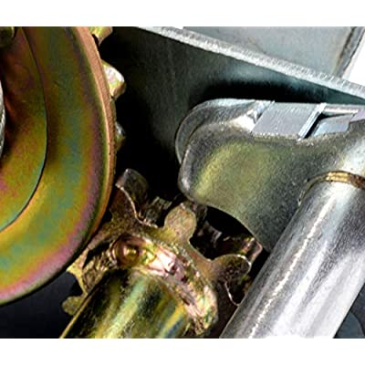Aceshin Heavy Duty Hand Winch, 600lbs Hand Crank Strap Cable Gear Winch ATV Boat Trailer: Home Improvement