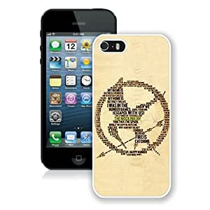 Hunger Games White Best Buy Customized Design iPhone 5S Case