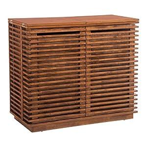 Zuo 100670 Linea Bar Cabinet, Walnut