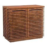 Zuo Linea Bar Cabinet, Walnut For Sale