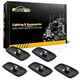 chevy oem cab lights - Partsam 5x Cab Marker Roof Running Light lamp Bases for 1988 - 2002 Chevy/GMC C1500 C2500 C3500 K1500 K2500 K3500