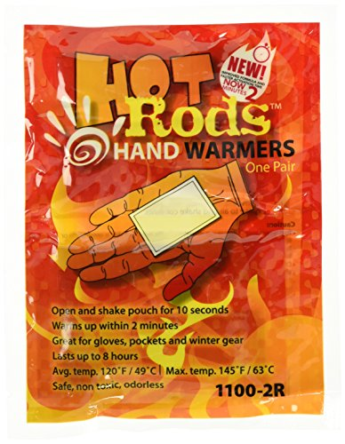 Occunomix 1100-80D Hot Rods Toe Warmers Heat Packs (40 Pack) - Hot Rods Heat Packs