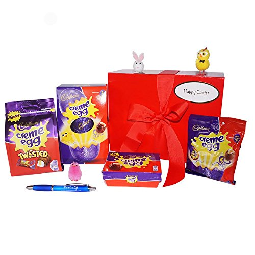 Cadbury Creme Egg Easter Treats Gift Box with Mini Chicks