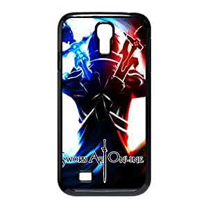Galaxy S4 Case,Stylish Sword Art Online SAO Design Phone case,Customized Cover Case for Samsung Galaxy S4,Sword Art Online SAO Wallet Case for Galaxy S4