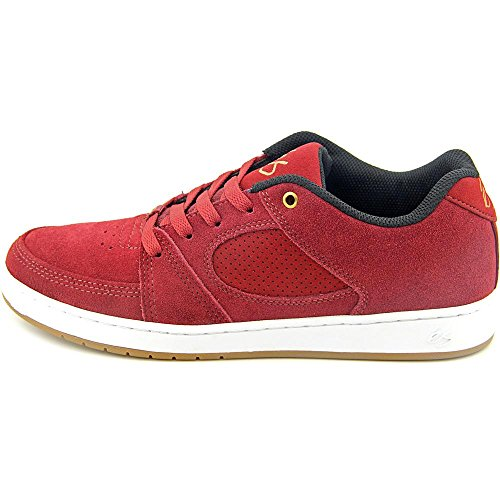 Es Accel Slim brown/gum Zapatillas Rojo