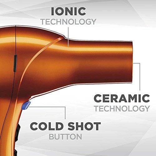 INFINITIPRO BY CONAIR 1875 Watt Salon Performance AC Motor Styling Tool/Hair Dryer; Orange