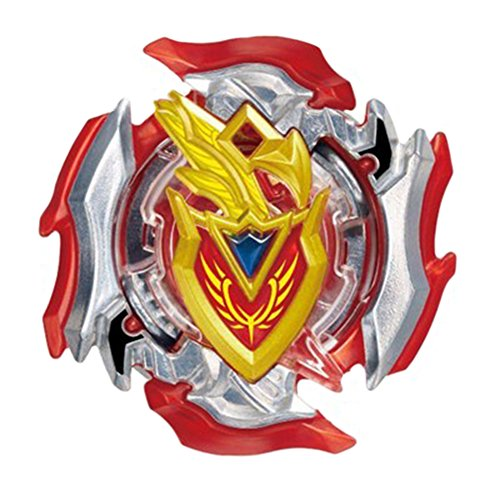 Burst Gyro Refined Battle Storm Gyro Heavy Metal Novelty Blade Spinner Set Kids Game Toy With Launcher And Cool Sticker ( B105 )
