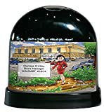 Personalized Friendly Folks Cartoon Caricature Snow Globe Gift: Mall Manager - Female Great for big box store, police department, school manager