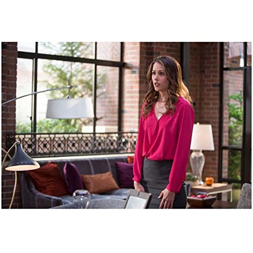 Silicon Valley (TV Series 2014 - ) 8 Inch x 10 Inch Photo Amanda Crew Pink Blouse & Grey Skirt kn