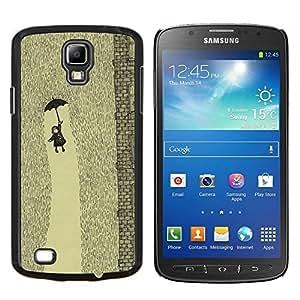 Stuss Case / Funda Carcasa protectora - Lluvia Cute Kids embutición profunda - Samsung Galaxy S4 Active i9295