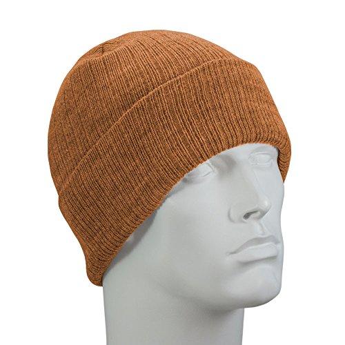 Copper Thinsulate Flex Ski Hat - 100 Gram - Made in USA