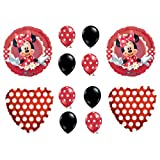 1 X MAD ABOUT MINNIE MOUSE BIRTHDAY PARTY Balloons Decorations Supplies by Anagram
