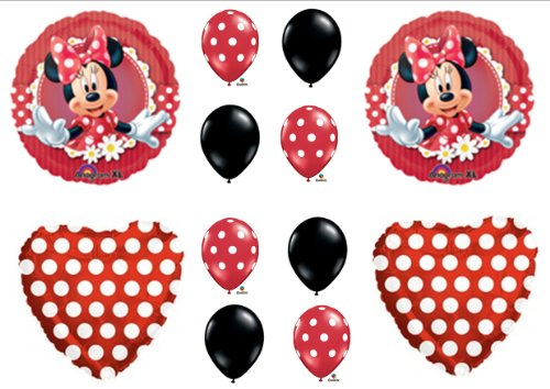 Amazon Mad About Minnie Mouse Birthday Party Balloons Toys Games