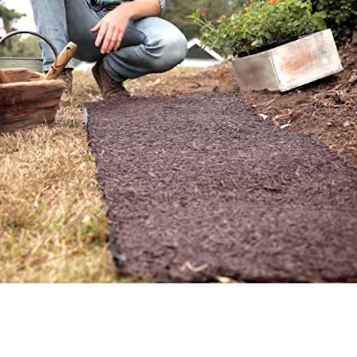 GT Gardening Rubber Mulch,All Weather Adjustable Garden W...