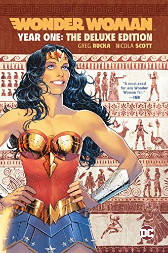 Wonder Woman: Year One Deluxe Edition (Wonder Woman Vol 2 Year One Rebirth)