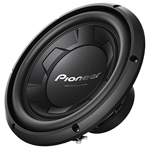 "Pioneer TS-W106M 1100W Peak (250W RMS) 10"" Single 4-Ohm Car Subwoofer"