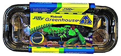 Jiffy J410 42mm Windowsill Greenhouse 10