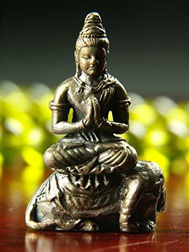 Tiny Buddha statue (small) zodiac Mamorihonzon / Samantabhadra - Items With For In Price Hyderabad Gift Silver