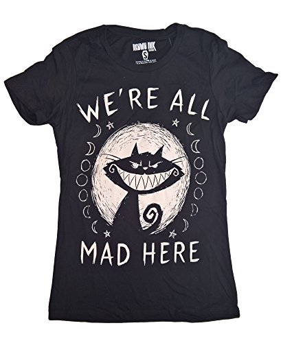 AKUMU INK We´re All Mad Here Damen T-Shirt Size M
