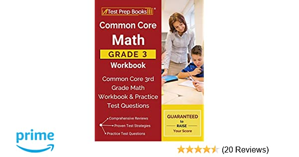 Common Core Math Grade 3 Workbook Common Core 3rd Grade Math