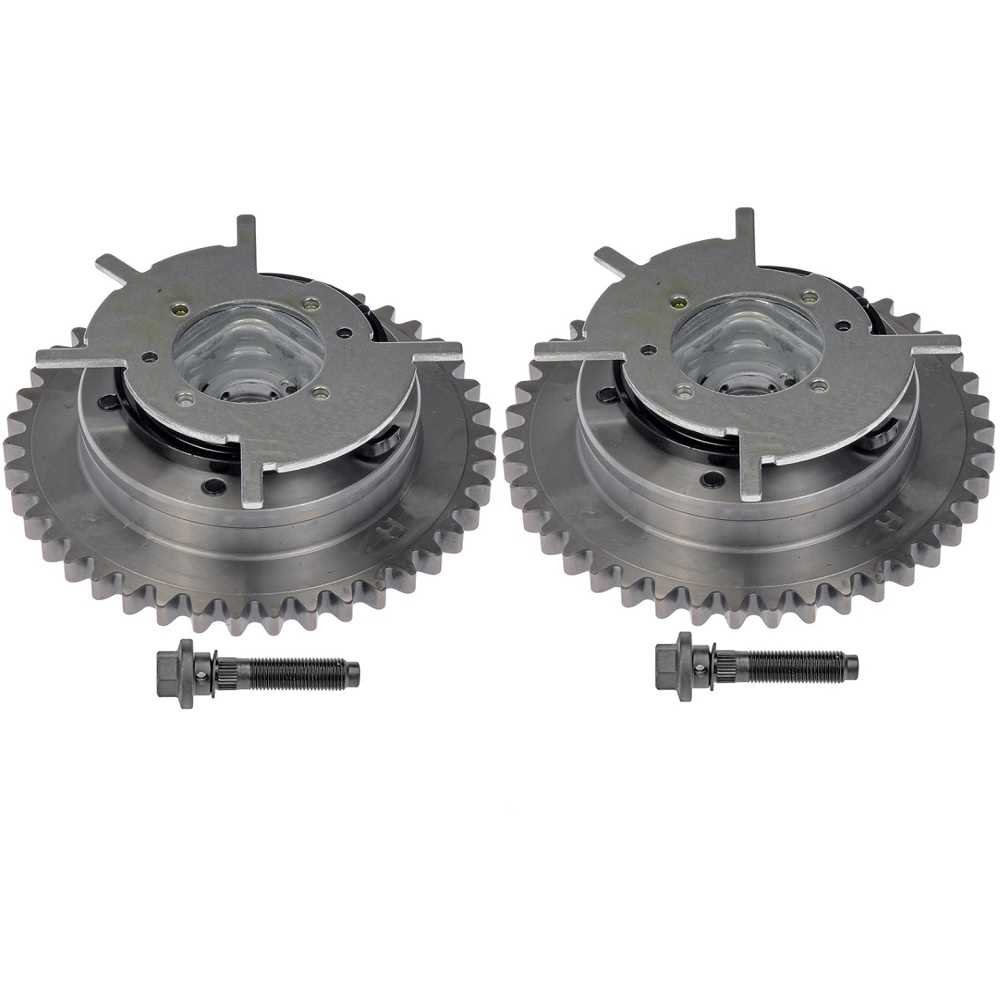 Prime Choice Auto Parts VVT1017252PR Pair of Variable Timing Camshaft Phasers