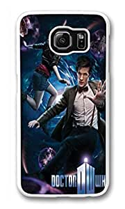 Samsung S6 Case, Galaxy S6 Case, Slim Fit Crystal Clear Case Bumper for Samsung Galaxy S6 pp32214 dr who and amy poster Absorption Clear Hard Case for Samsung Galaxy S6