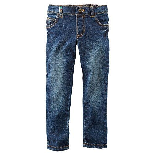 Carter's 5-Pocket Embellished Skinny Jeans, Denim (24 Months )