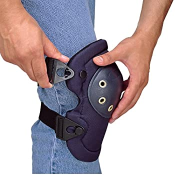 Allegro Industries 7102-Q QuickMax Knee Pad with Buckle, One Size, Blue