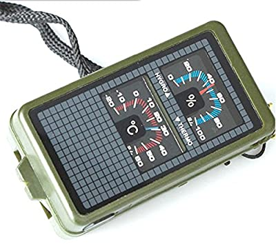 Multifunction 10 in 1 Outdoor Camping Hiking Survival Tool Compass Kit by A PLUS LIMITED CO