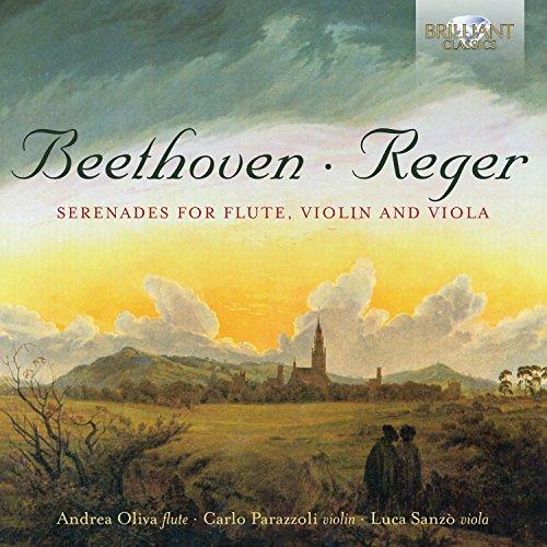 - Reger, Beethoven: Serenades for Flute, Violin and Viola