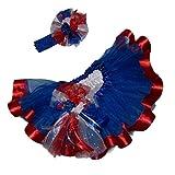 Southern Wrag Company USA 4th of July Royal Blue Tutu Set Infant thru 6x (5)
