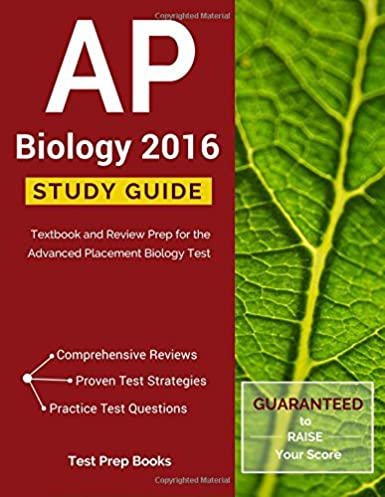 amazon com ap biology 2016 study guide textbook and review prep rh amazon com ap biology study guide campbell ap biology study guide answers