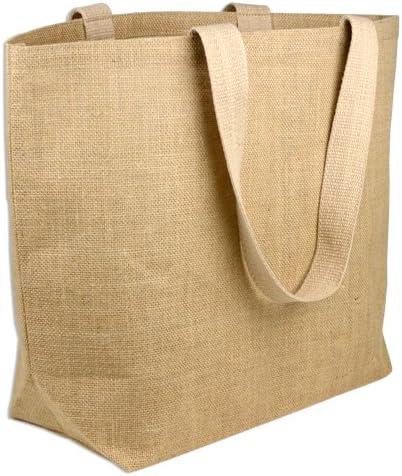 Amazon.com: ECO friendly Yute/Burlap Natural Grande las ...