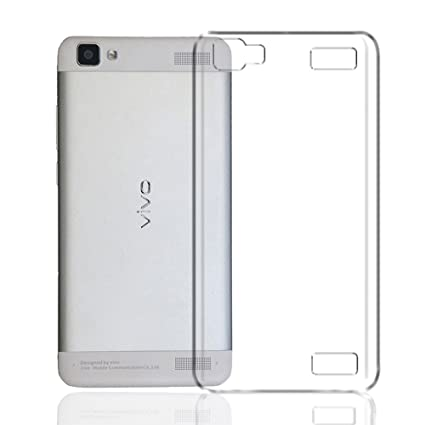 pretty nice 1132f 698a2 Deltakart Back Cover for Vivo V1 Max Transparent: Amazon.in: Electronics