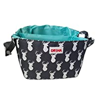 Diaper Storage Caddy By Danha – Portable Diaper Bag And Stacker With Beautifu...