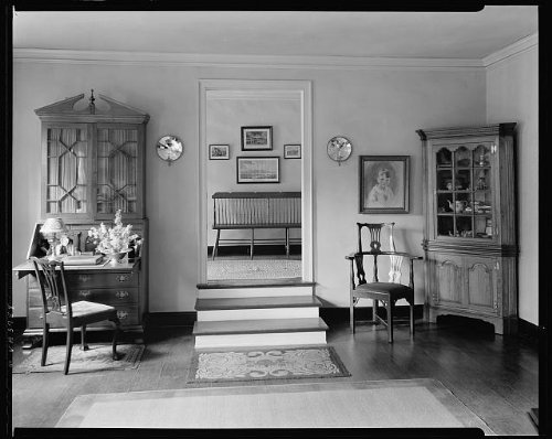 Party Supplies Richmond Va (Photo: Trigg House, doorways, desks, chairs, Richmond, VA, Virginia, Architecture, South, c1930 . Si)