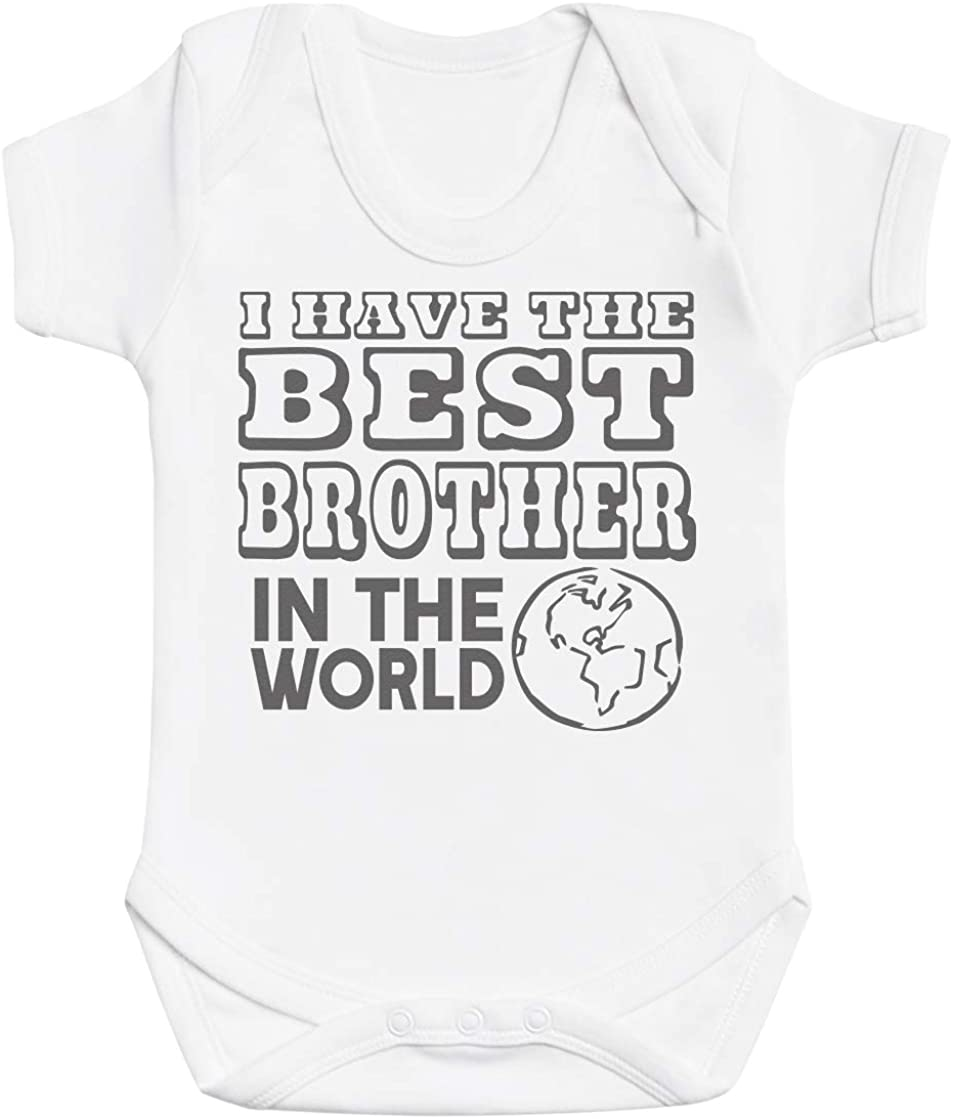 Zarlivia Clothing I Have The Best Mum in The World Baby Boy Romper Baby Romper Baby Girl Romper