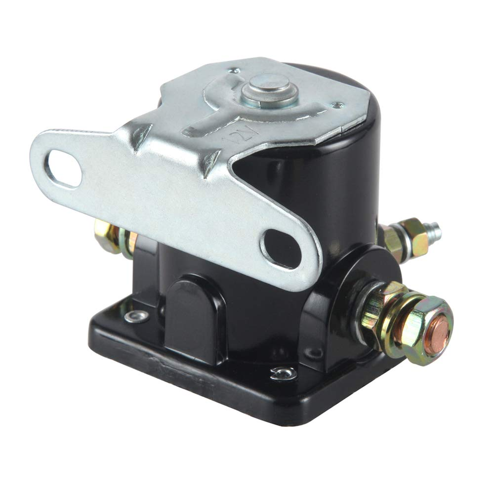 MIDIYA SS581T// ALL76203 Ford 12 Volt SW3 Hot Rod Starter Solenoid Relay Used On Johnson Trim Motor Applications Evinrude Outboard Motor for Insulated Ground 3250028 3250032 5752791 8982775001 8982775012 JR775001 JR775012