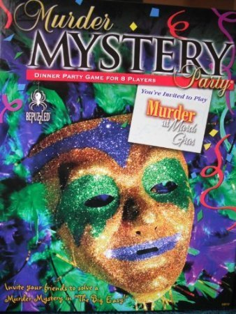 Murder Mystery Party Game - Murder at Mardi Gras ()