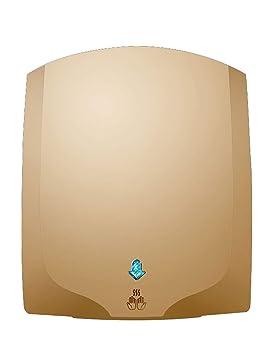 WNgsj Secador de Manos Eléctrico Automático, Calentador de Chorro Pequeño de Secado de Alta Velocidad