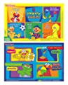 Sesame Street Table Topper Disposable Stick-on Placemats with Reusable Pop-up Travel Case - 50 Count by Neat Solutions