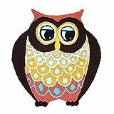 Ustide Handmade Owl Floor Mat/Cover Floor Rug Indoor/Outdoor Area Rugs,Washable Garden Office Door Mat,Kitchen Dining Living Hallway Bathroom Pet Entry Rugs with Non Slip Backing Review
